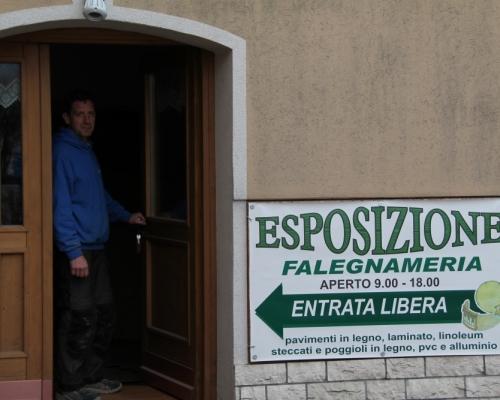 Esposizione Falegnameria Borzaga - Cavareno - Val di Non