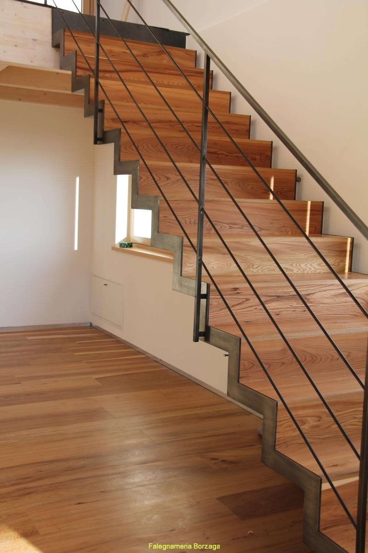 Scale legno moderne lf22 regardsdefemmes - Rivestimento in legno per scale ...