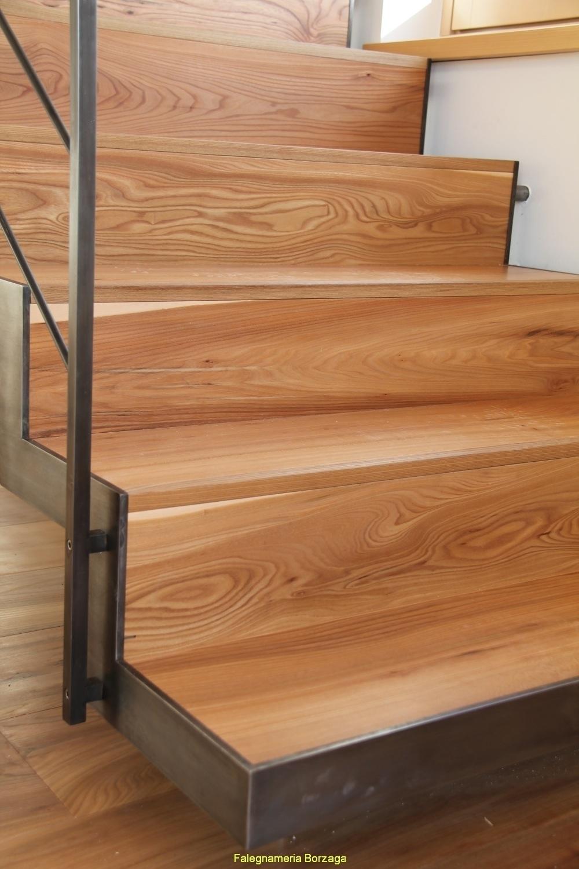 Scale in legno moderne scala a giorno in legno massello - Scale in legno moderne ...