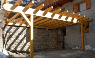 Soppalchi in legno Borzaga - Cavareno - Val di Non